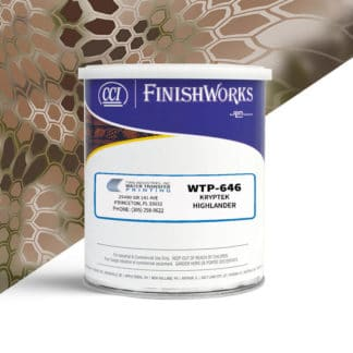 Hydrographic Paint: WTP-646 Kryptek Highlander | CCI Paint