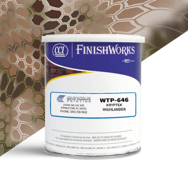 Hydrographic Paint: WTP-646 Kryptek Highlander | CCI Paint