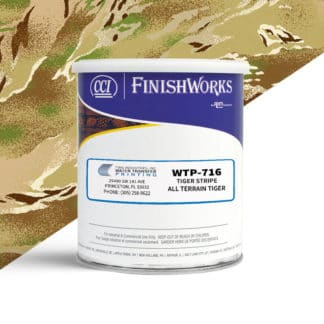 Hydrographic Paint: WTP-716 Tiger Stripe-All Terrain Tiger | CCI Paint