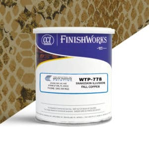 Hydrographic Paint: WTP-778 Snakeskin Illusion-Fall Copper | CCI Paint