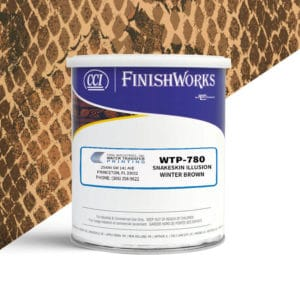 Hydrographic Paint: WTP-780 Snakeskin Illusion-Winter Brown | CCI Paint