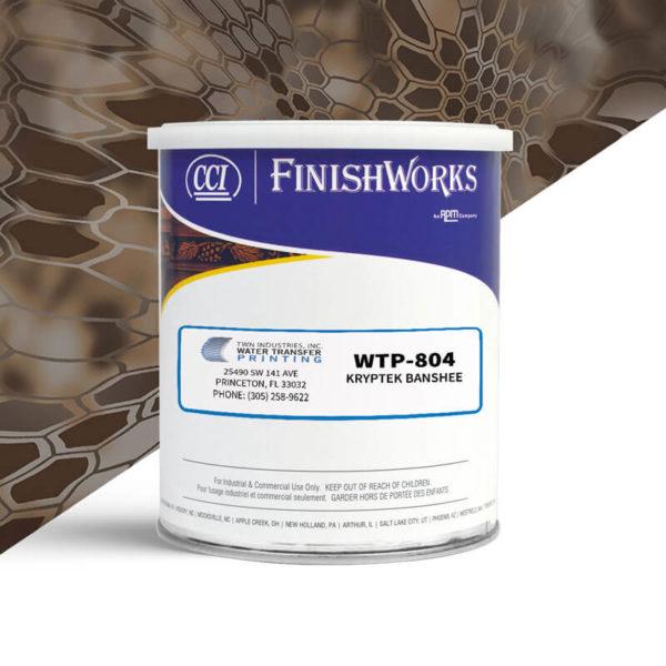 Hydrographic Paint: WTP-804 Kryptek Banshee   CCI Paint