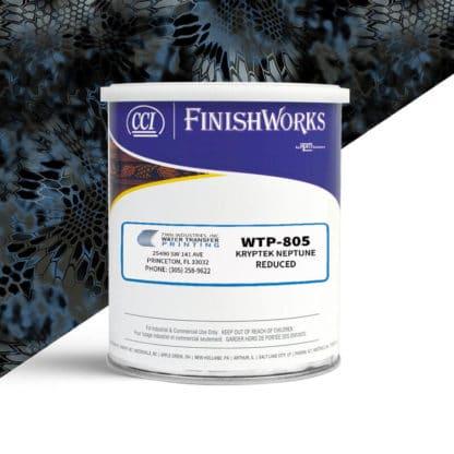 Hydrographic Paint: WTP-805 Kryptek Neptune Reduced | CCI Paint