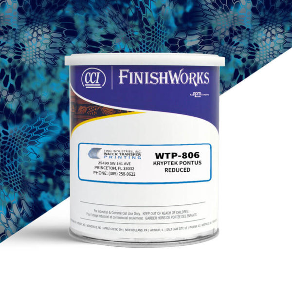 Hydrographic Paint: WTP-806 Kryptek Pontus Reduced | CCI Paint