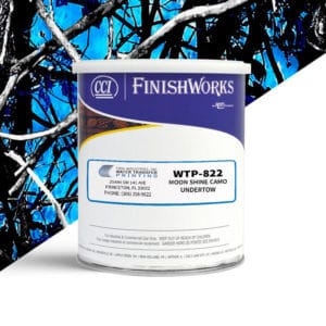 Hydrographic Paint: WTP-822 Moon Shine Camo Undertow | CCI Paint