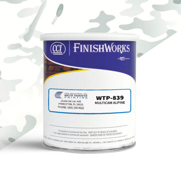 Hydrographic Paint: WTP-839 MultiCam Alpine | CCI Paint