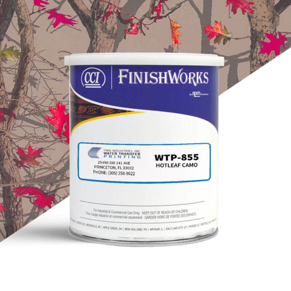 Hydrographic Paint: WTP-855 Hotleaf Camo | CCI Paint