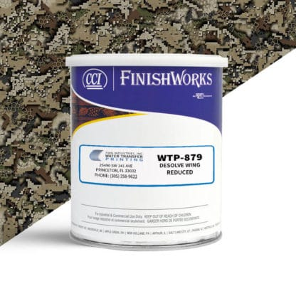 Hydrographic Paint: WTP-879 Desolve Wing Reduced   CCI Paint