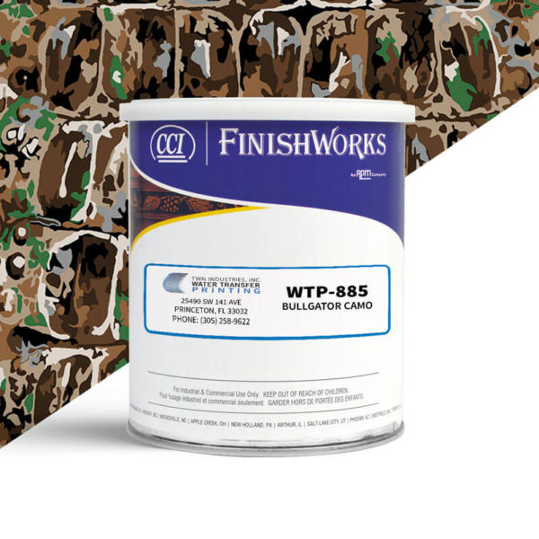 Hydrographic Paint: WTP-885 BullGator Camouflage | CCI Paint