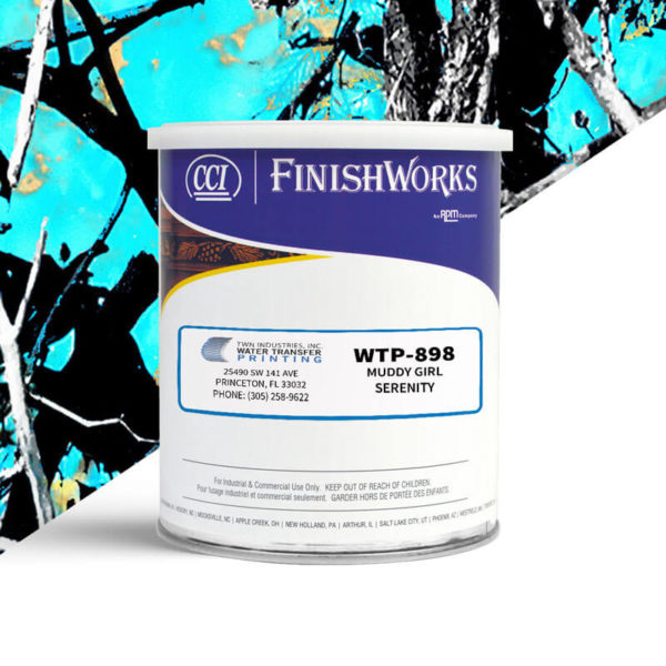Hydrographic Paint: WTP-898 Muddy Girl Serenity | CCI Paint