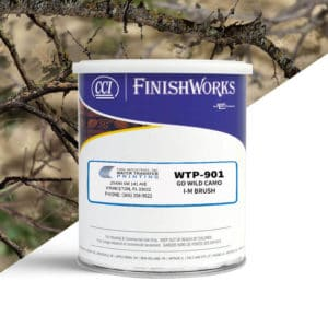 Hydrographic Paint: WTP-901 Go Wild Camo I-M Brush | CCI Paint