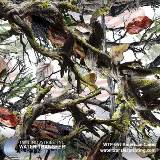 WTP-959 American Camo Hydrographic Film by Shawn Naughty Designz