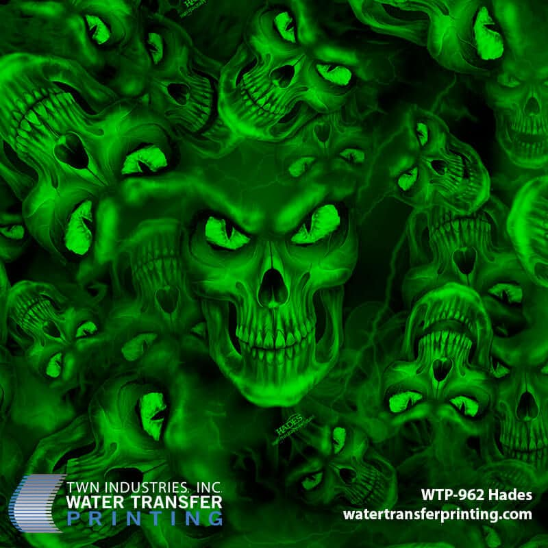 WTP-962 Hades by ShawNaughty Designz - Green