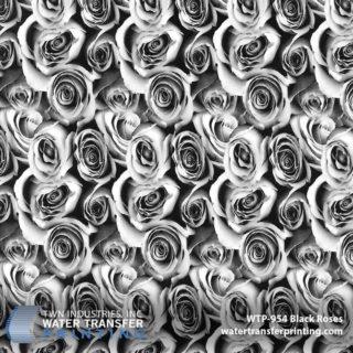 WTP-954 Black Roses Hydrographic Film