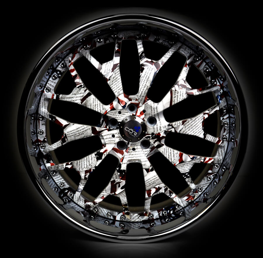 Hydro Dipped Wheel: SEMA 2018