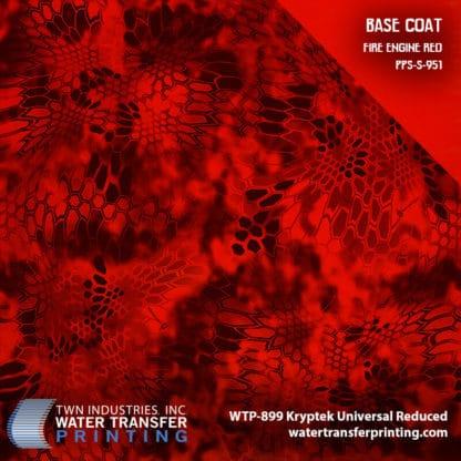WTP-899 Kryptek Universal Reduced - Poseidon Fire Engine Red