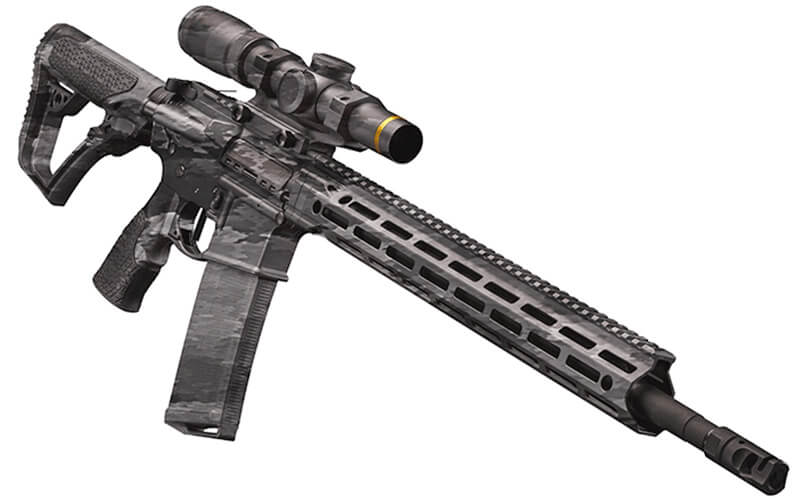 AR15 Dipped in A-TACS Ghost