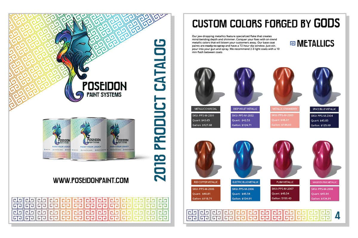 Poseidon Paint Systems Product Catalog
