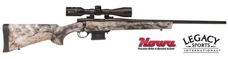 Coyote Fur Camo HOWA Mini Action Rifle