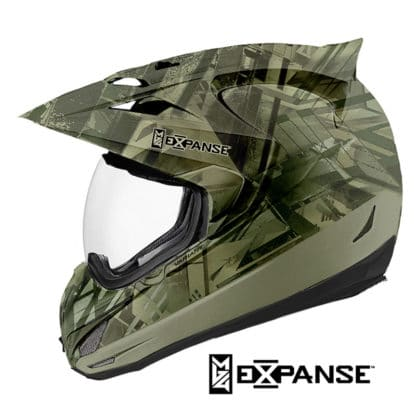 Helmet Dipped in WTP-971 Expanse Hydrographic Film