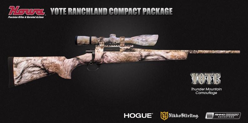 Yote Coyote Fur Camo: Howa Rifle