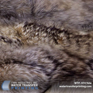 Coyote Fur Hydro Dipping Film: WTP-974 Yote