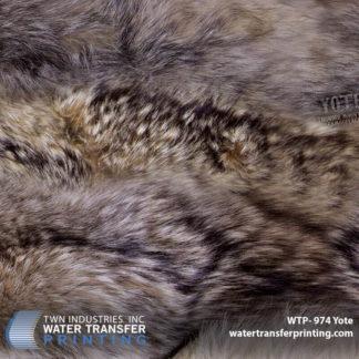 Coyote Fur Hydro Dipping Film: WTP-974 Yote