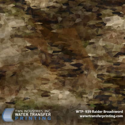 Hydrographic Film: WTP-939 Raider Broadsword