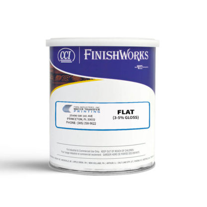 Hydrographics Clear Coat: Flat | CCI Paint