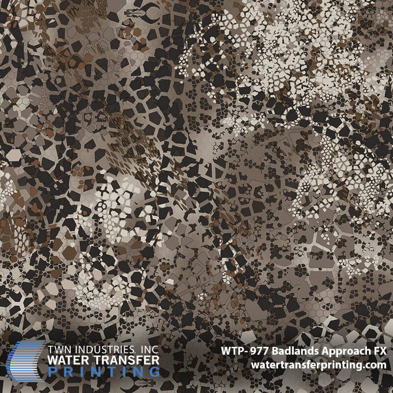 WTP-977 Badlands Approach FX Hydrographic Film