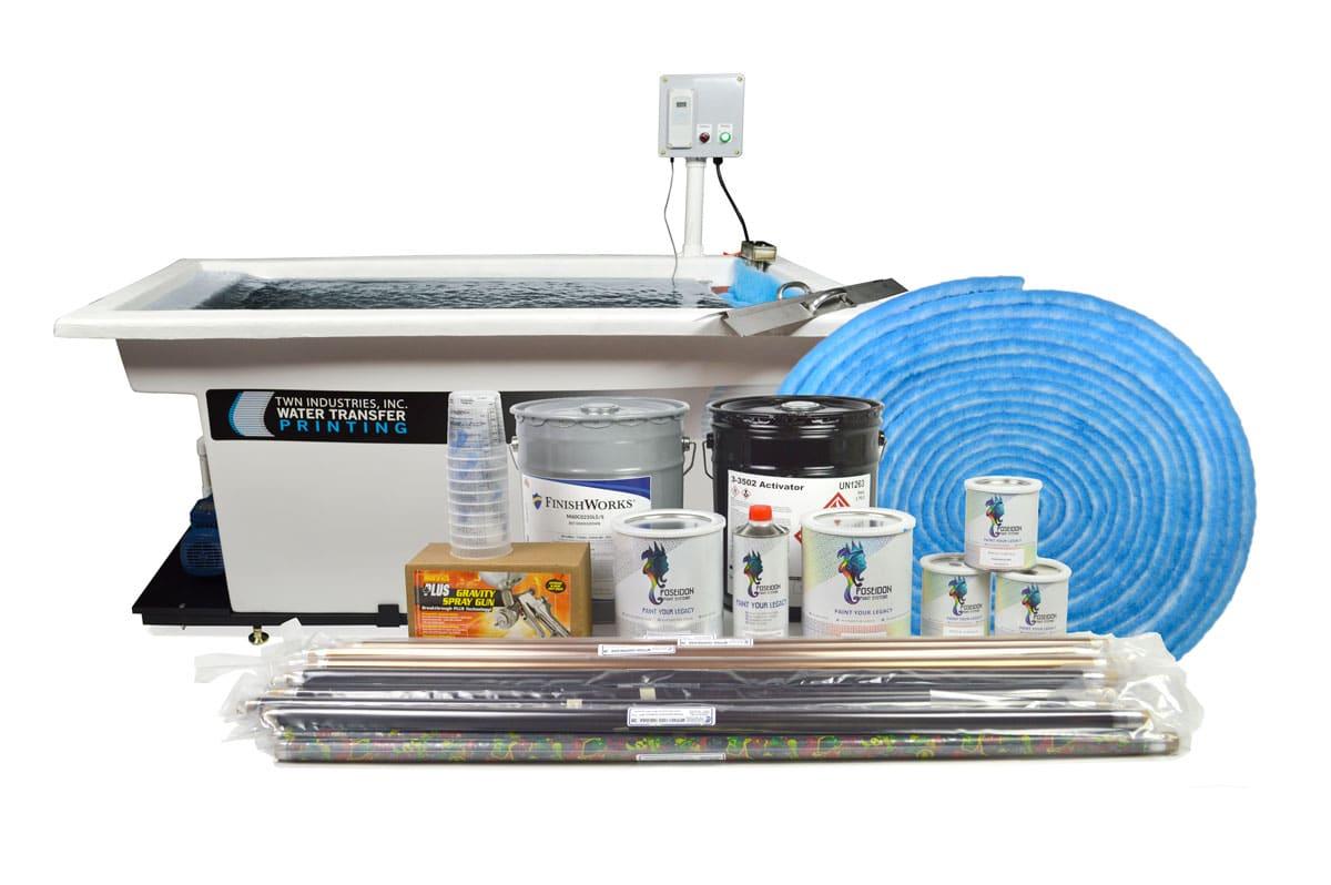 Hydro Dip Tank: Essentials Package