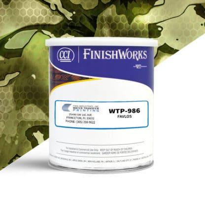 Hydrographic Paint: WTP-986 Favlos | CCI Paint