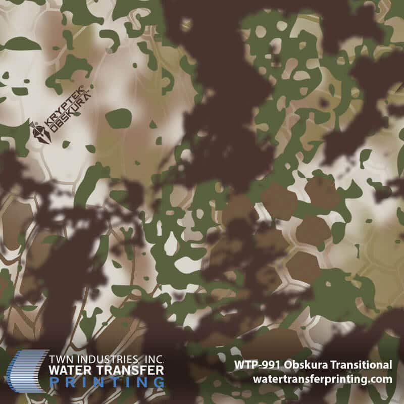 WTP-991 Kryptek Obskura Transitional Hydro Dip Film