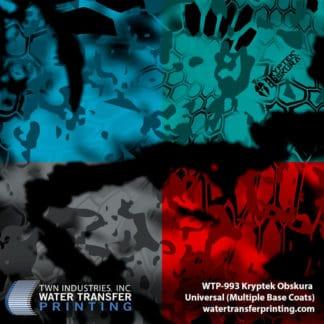 WTP-993 Kryptek Obskura Universal Hydro Dip Film