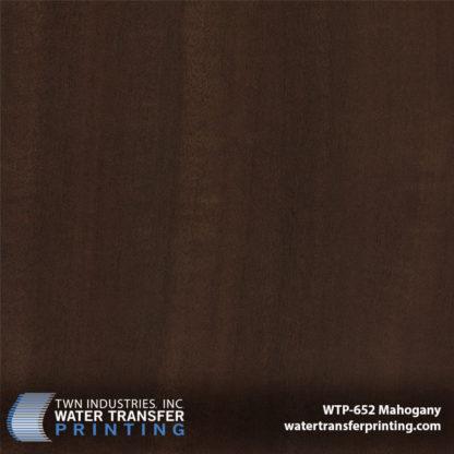 WTP-652 Mahogany Hydrographic Film