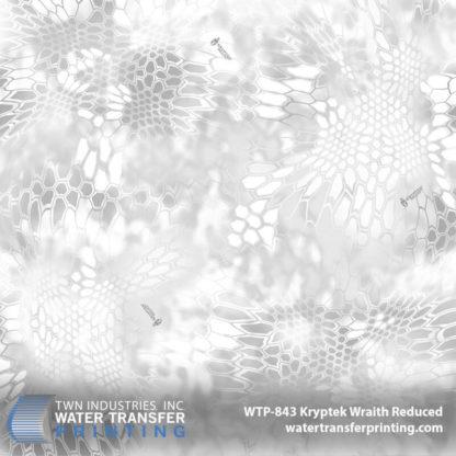 WTP-843 Kryptek Wraith Reduced Hydro Dip Film