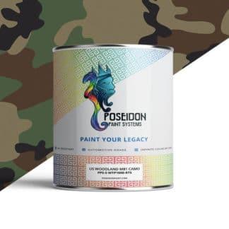 Hydrographic Paint: WTP-1000 US Woodland M81 Camo | Poseidon