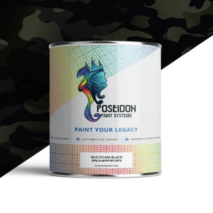 Hydrographic Paint: WTP-787 MultiCam Black | Poseidon