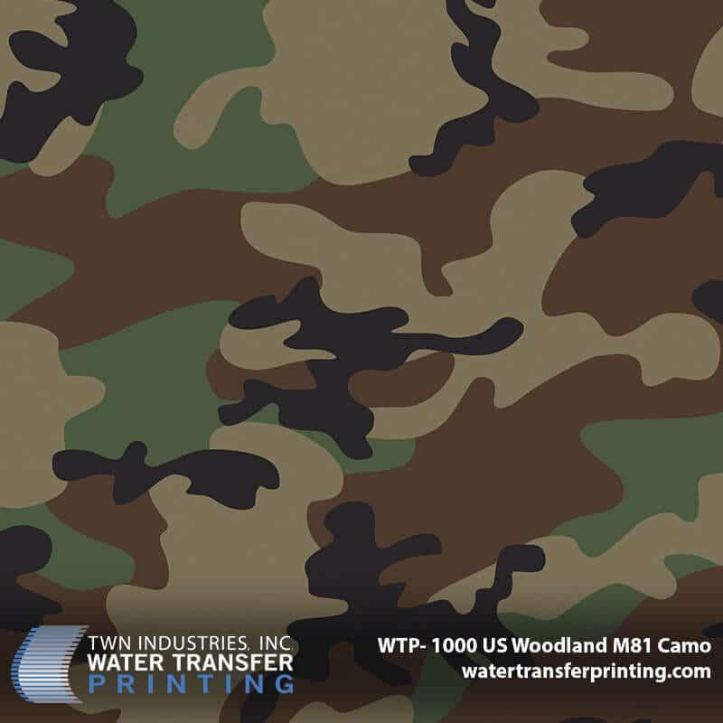 WTP-1000 US Woodland M81 Camo