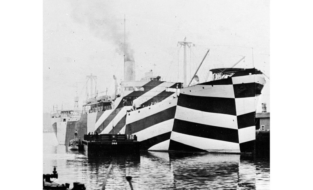 Dazzle Ship WW1