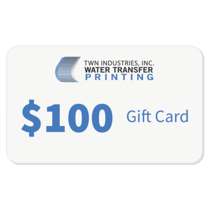 Hydrographics Gift Card $100