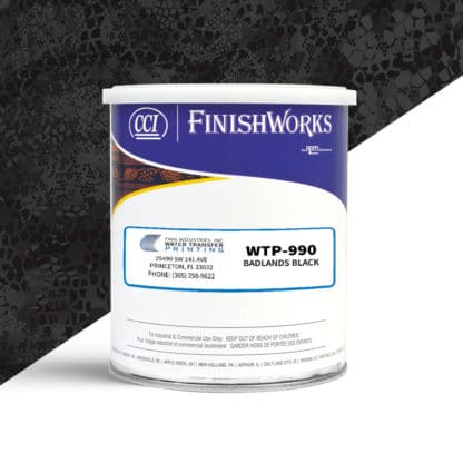 Hydrographic Paint: WTP-990 Badlands Black | CCI Paint