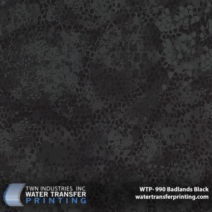 WTP-990 Badlands Black Hydro Dip Film