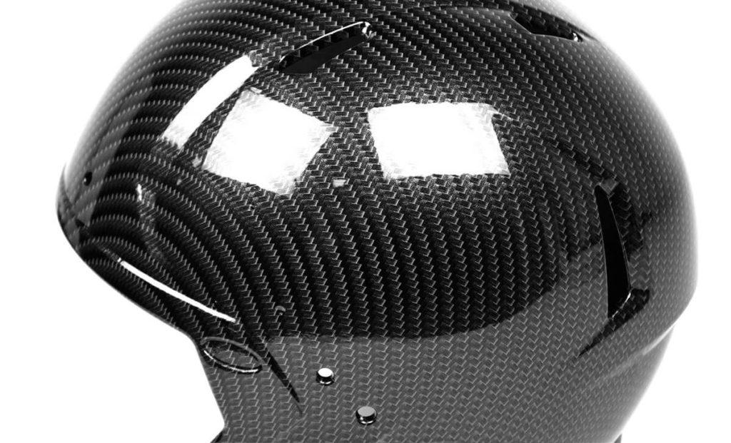 Chrome Carbon Fiber Hydro Dipping Film Football Helmet