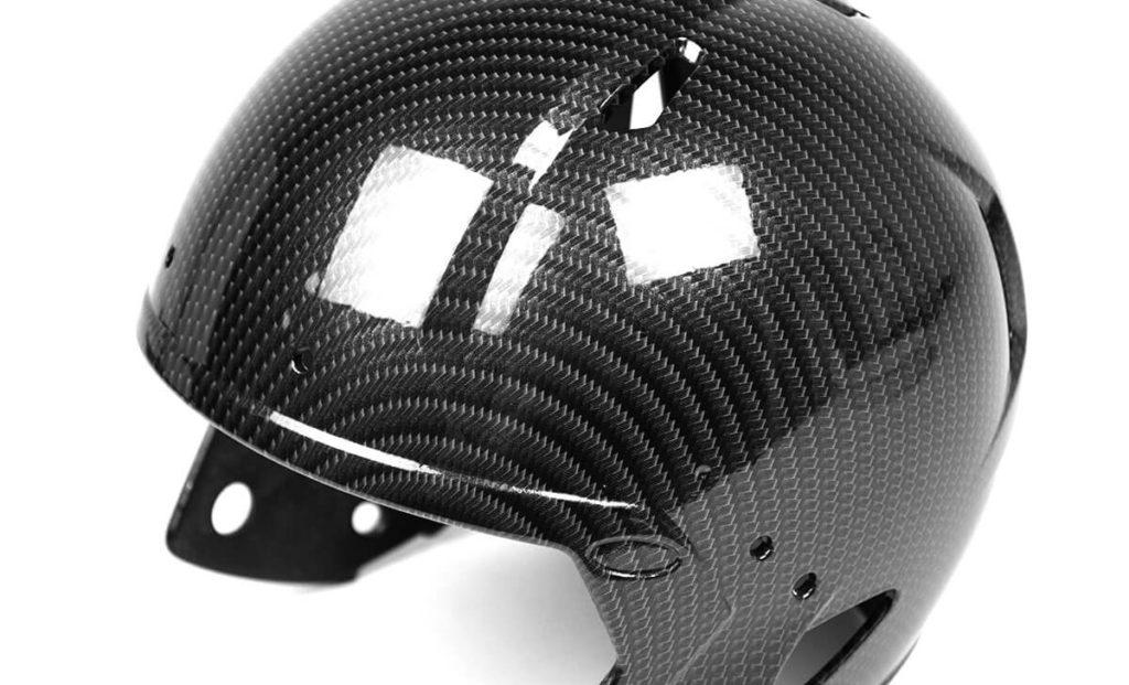 Chrome Carbon Fiber Hydrographic Film Football Helmet