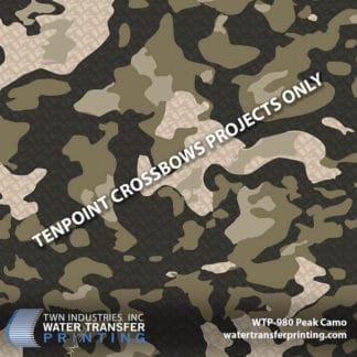 WTP-980 Peak Camo Hydro Dip Film