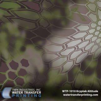 WTP-1010 Kryptek Altitude Hydro Dip Film