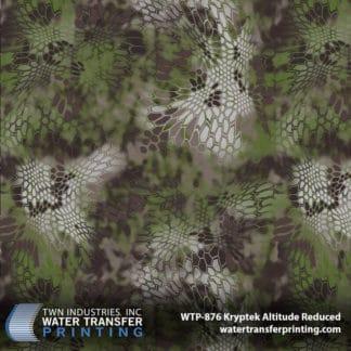 WTP-876 Kryptek Altitude Reduced Hydro Dip Film