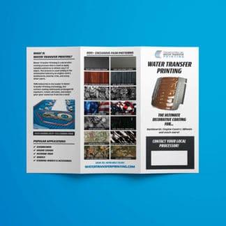 Automotive Hydro Dip Marketing Brochure