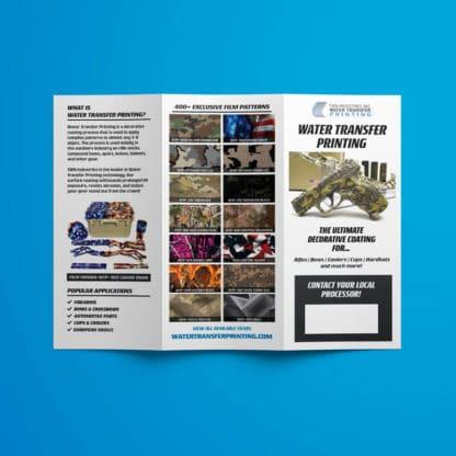 Camouflage Hydro Dip Marketing Brochure